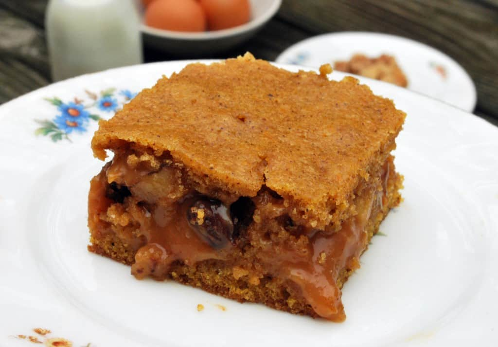 Pumpkin Caramel Bar