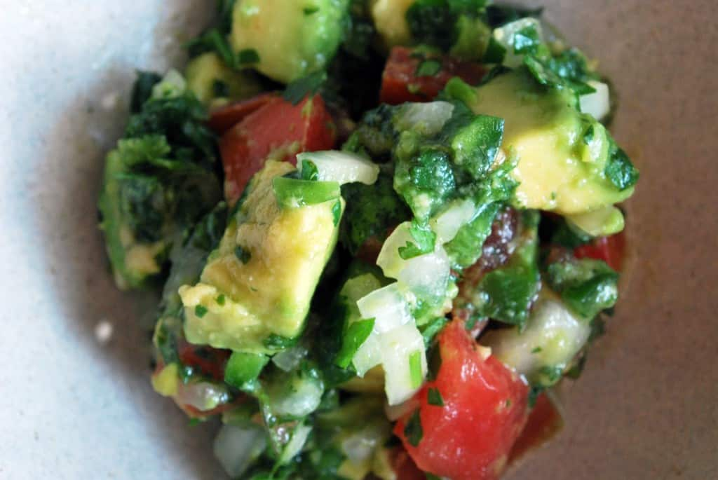 Pico de Gallo with Avocado