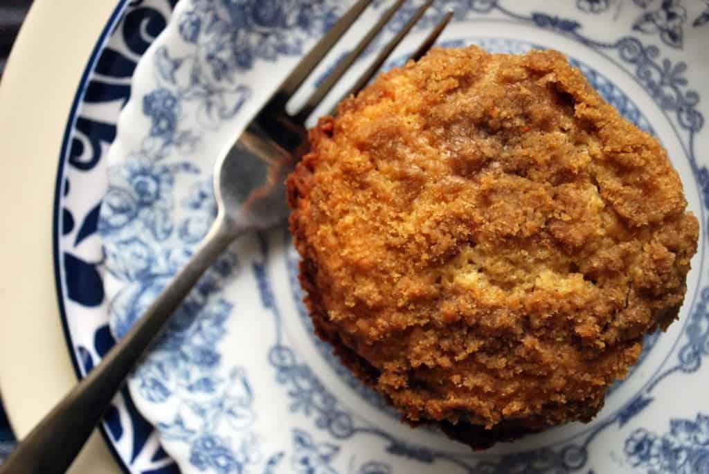 Allspice Crumb Muffin