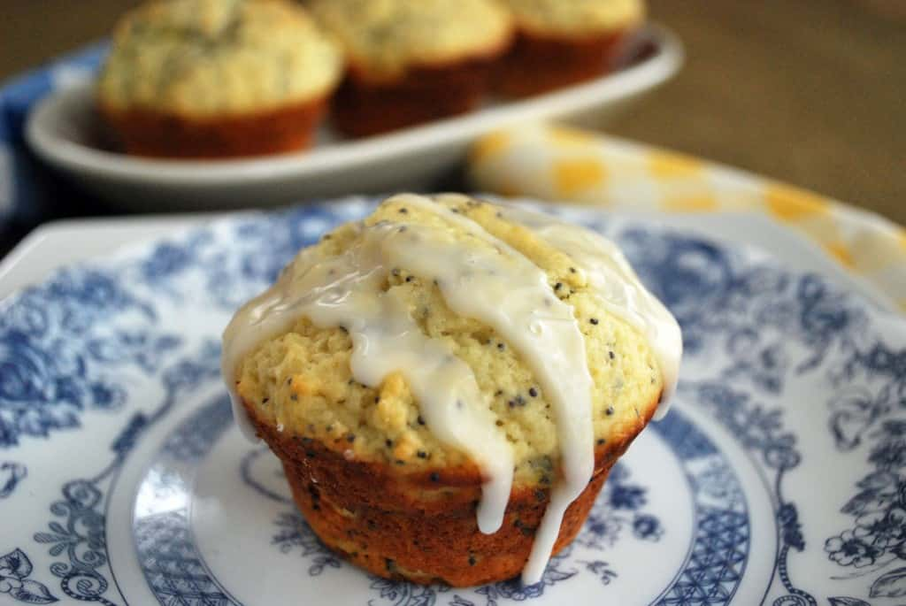 Lemon Poppy Seed Muffins - The Live-In Kitchen