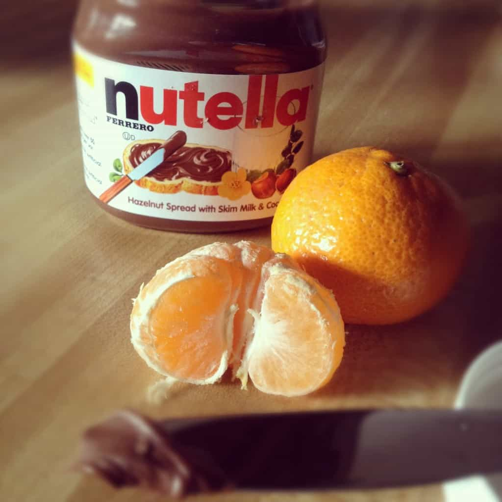Nutella and Satsumas