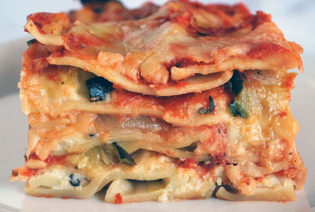Roasted Vegetable Lasagna - The Live-In Kitchen