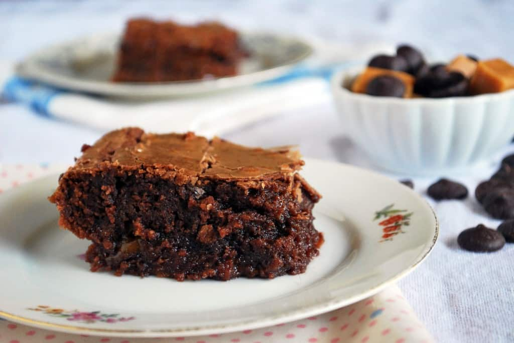 Fat Witch Caramel Brownies
