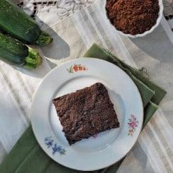 Chocolate Chip Zucchini Brownies