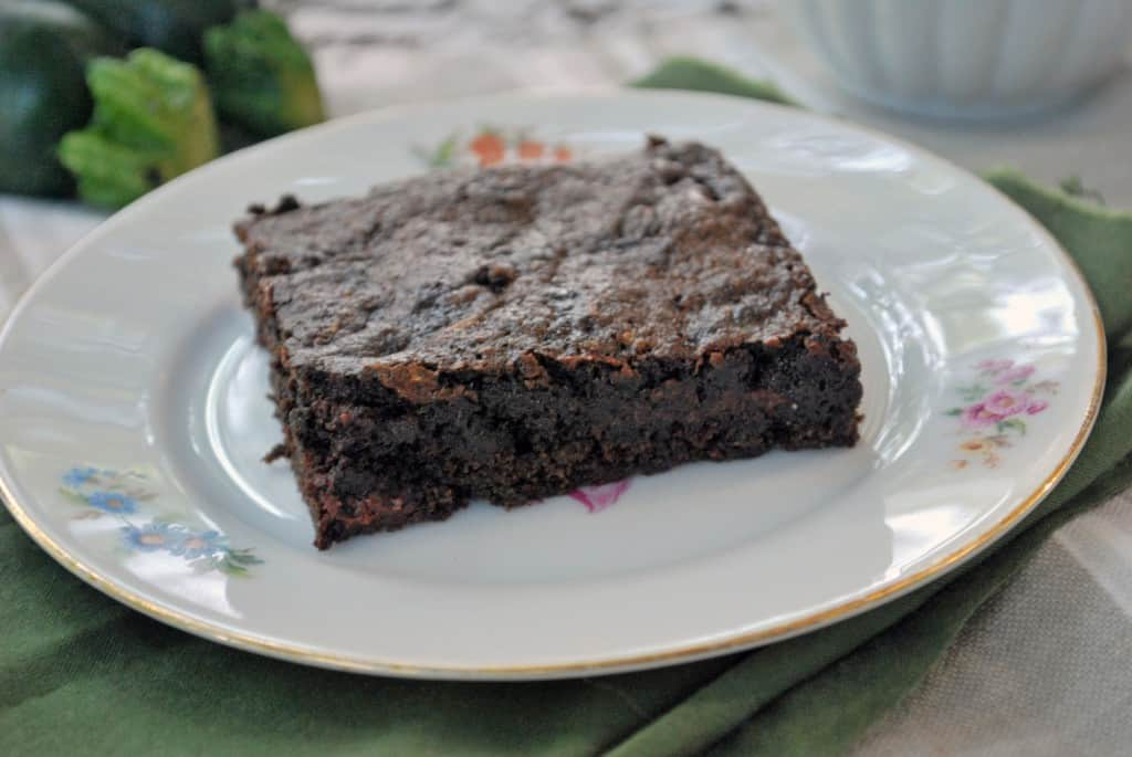 Chocolate Chip Zucchini Brownies - The Live-In Kitchen