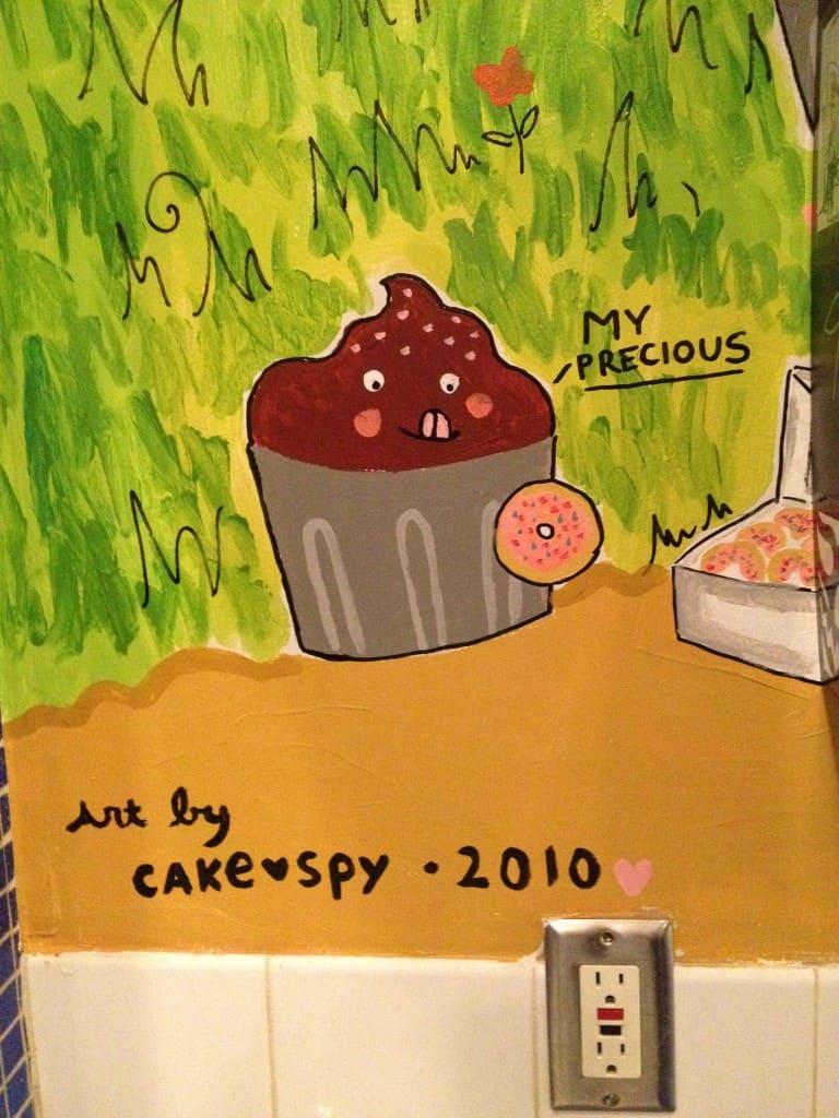 Cakespy mural