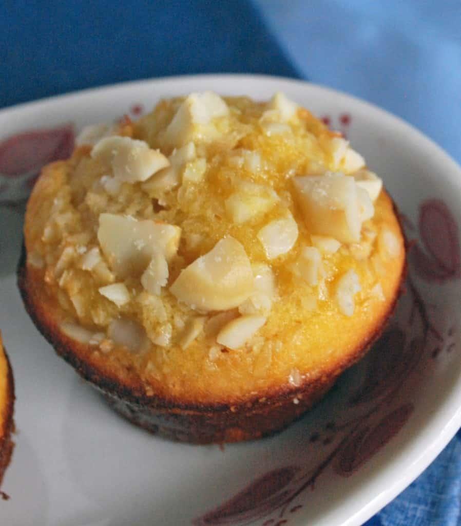 Coconut Flour Macadamia Nut Muffin