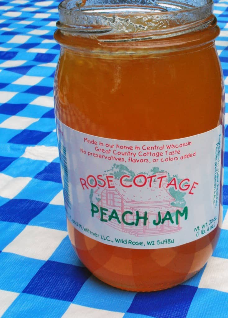 Rose Cottage Peach Jam