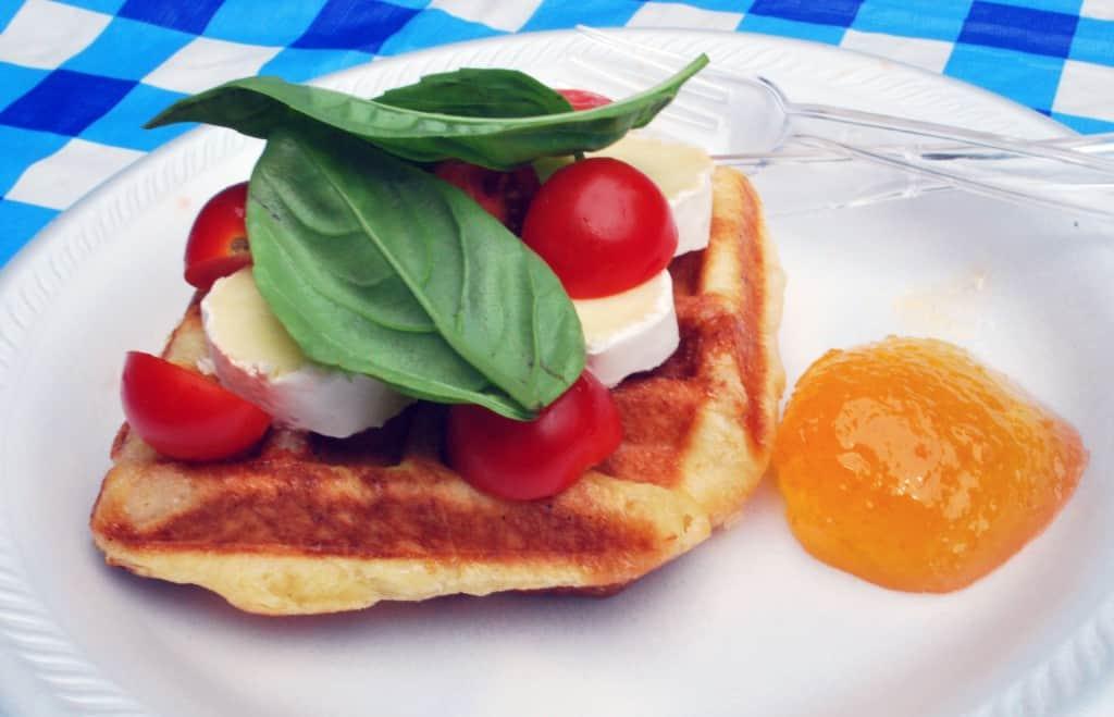 Three B's Vegetarian Waffle