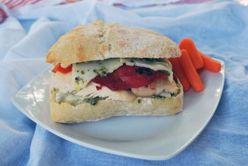 Pesto Chicken Sandwich