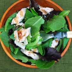 Chicken Piccata Salad