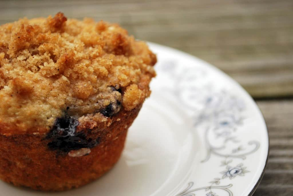 Crumb Top Blueberry Muffin