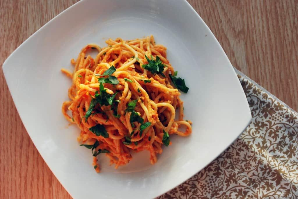 Spaghetti alla Cici