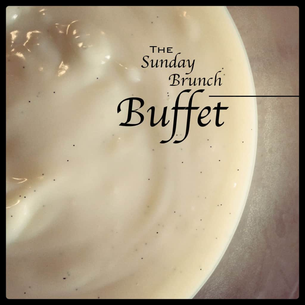The Sunday Brunch Buffet 8/19/2012