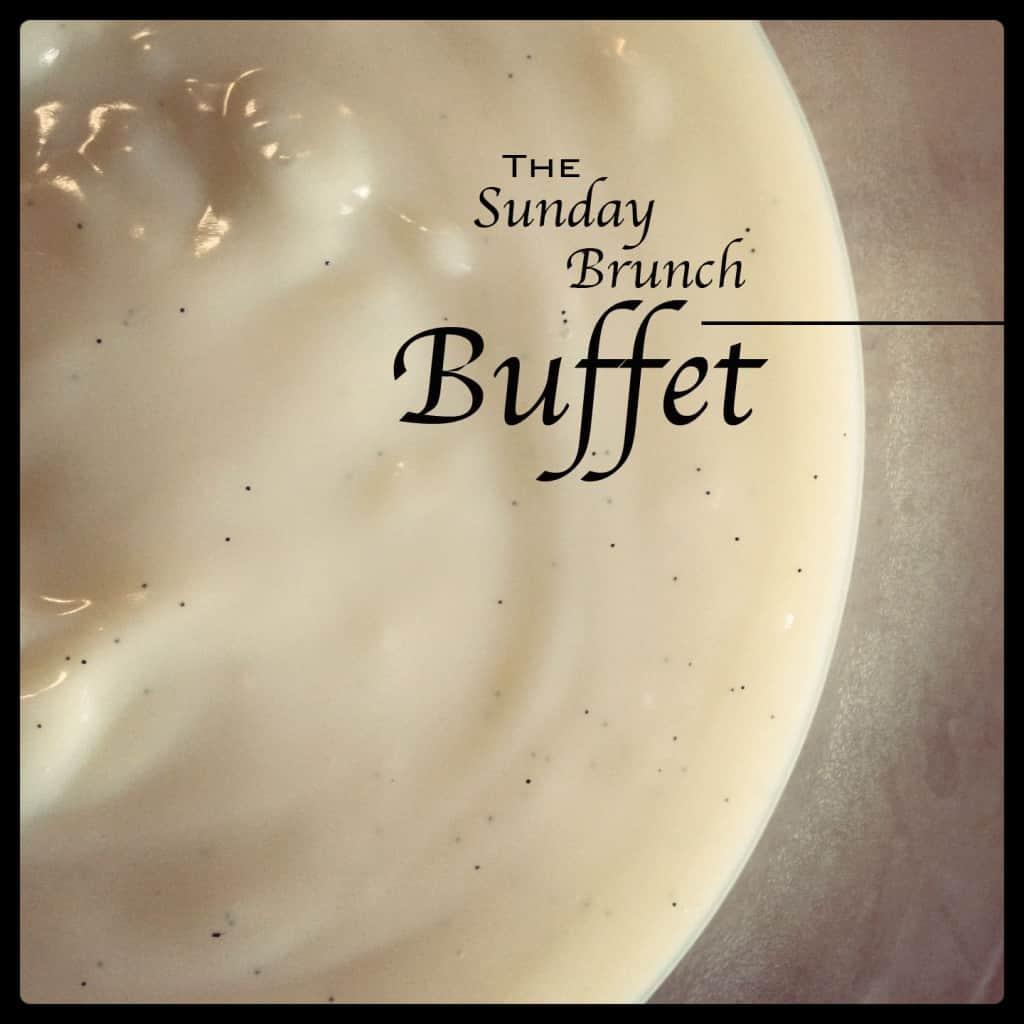 The Sunday Brunch Buffet 8/19/2012