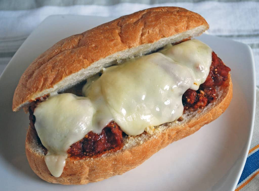 Italian Meatball Sandwiches - The Live-In Kitchen