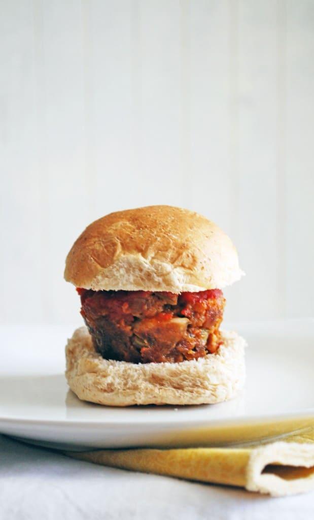 Cheese Stuffed Meatloaf Sliders