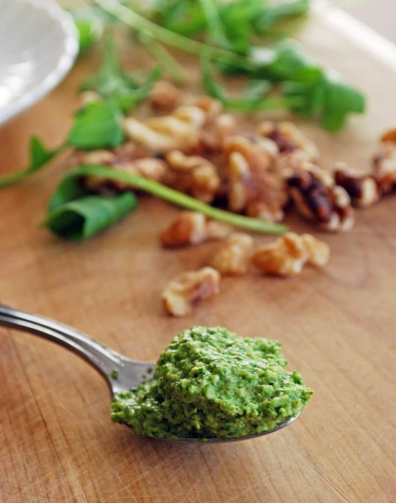 Walnut Arugula Pesto