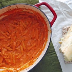 Penne alla Vecchia Bettola - This is my family's favorite pasta dish!