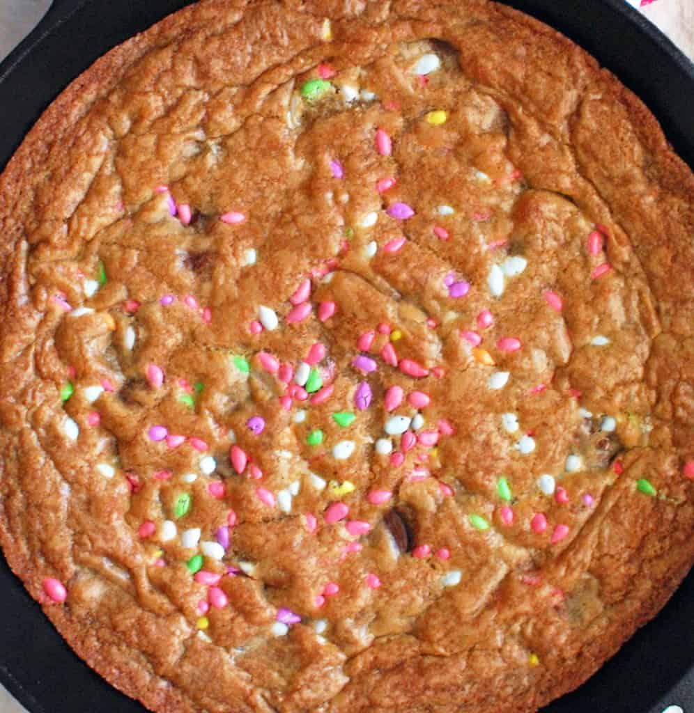 Spring Seed Skillet Cookie