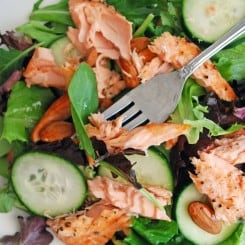 Lazy Lady Salmon Salad