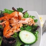 Lazy Lady Salmon Salad