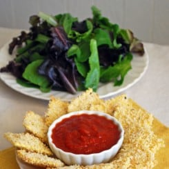 Hot and Crispy Ravioli
