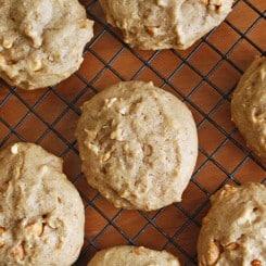Pillowy Maple Nut Breakfast Cookies