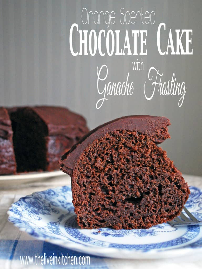 Chocolate Cake With Chocolate Orange Frosting Recipes