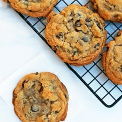 An easier recipe for the New York Times chocolate chip cookie and a break down as to why there are so many ways to make a chocolate chip cookie!