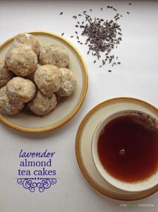 Lavender Almond Tea Cakes