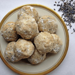 Lavender Almond Tea Cakes