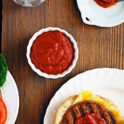 Quick Ketchup from Haute Dogs by Russell van Kraayenburg via The Live-In Kitchen