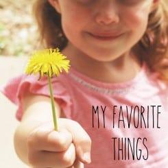 My Favorite Things Spring 2014