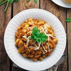 Vegetarian Quinoa White Chili