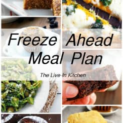 Freeze Ahead Meal Plan – Vegetarian Freezer Meals