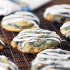 Buttery Bourbon Cherry Cookies