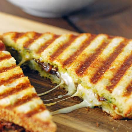 Butternut Squash and Sage Pesto Grilled Cheese