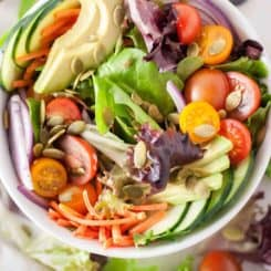 The Best Easy Vegan Salad