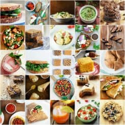 35 Vegetarian Memorial Day Recipes, great for all summer long! Salads, sides, snacks, drinks, sandwiches, and desserts. theliveinkitchen.com