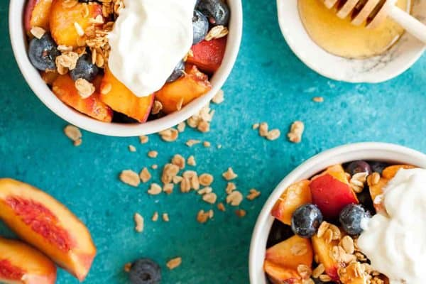 Honey Vanilla Summer Fruit Salad