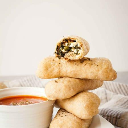 Spanakopita Pizza Dippers