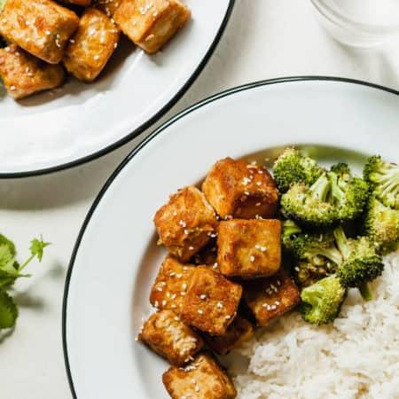 The Best Crispy Tofu