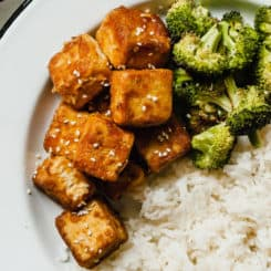 The Best Crispy Tofu