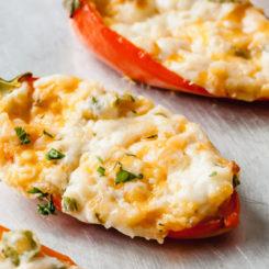 zesty cream cheese stuffed mini peppers