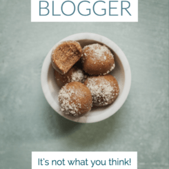 pinterest image for 10 food blogging tips